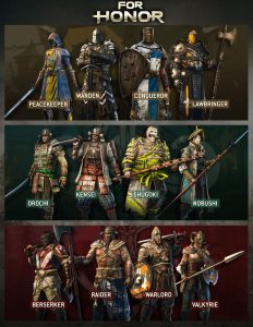 for-honor-heroes